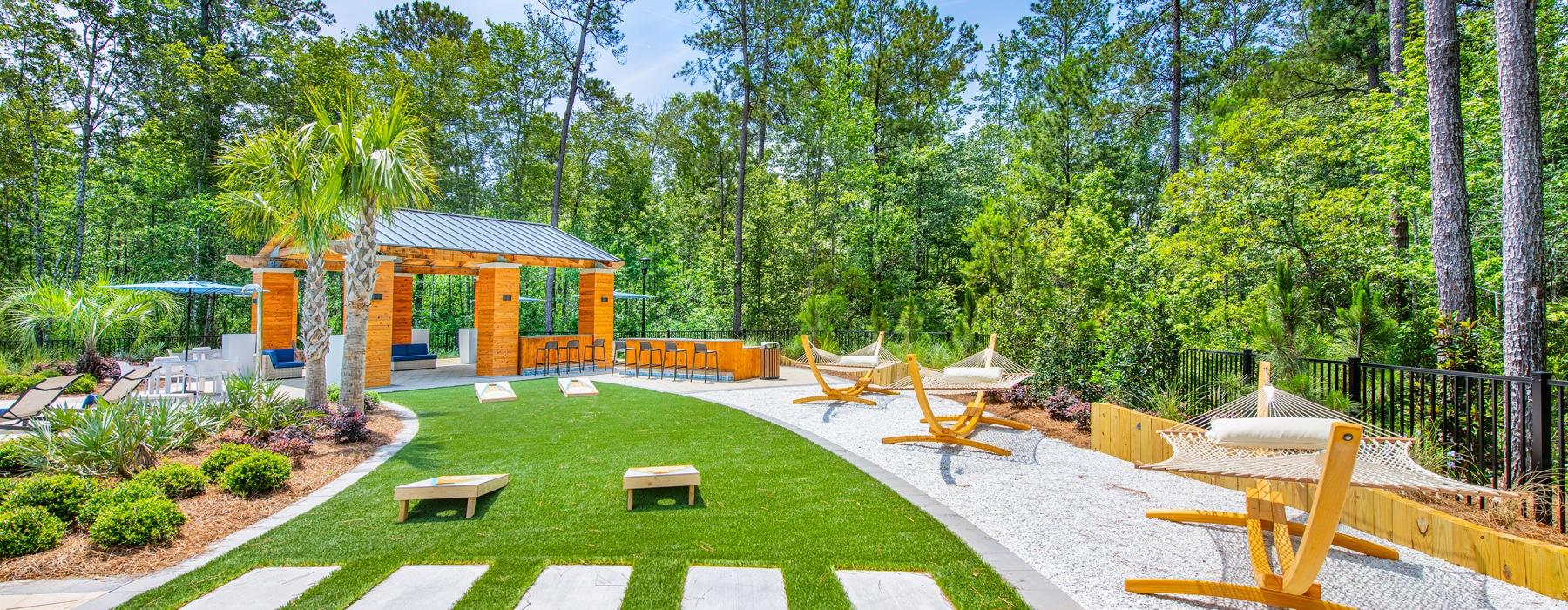 Hammock Garden + Gaming Lawn